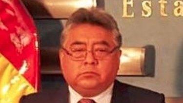 Bolivian Deputy Interior Minister Rodolfo Illanes.