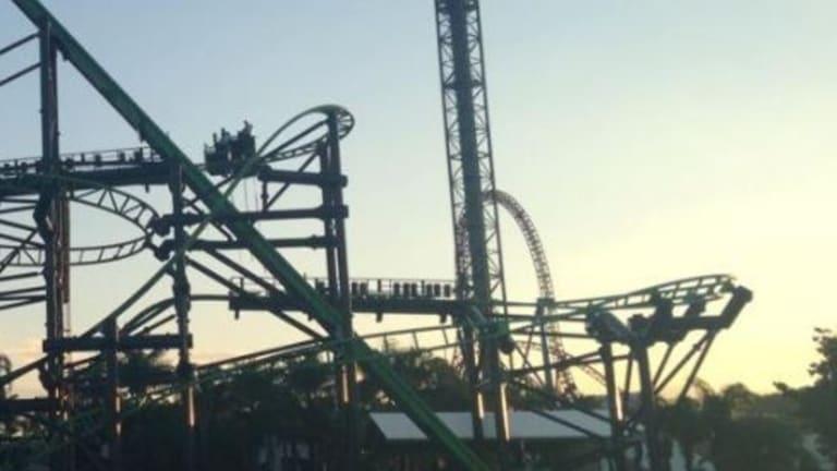 Dozens Evacuated In Movie World Rollercoaster Malfunction