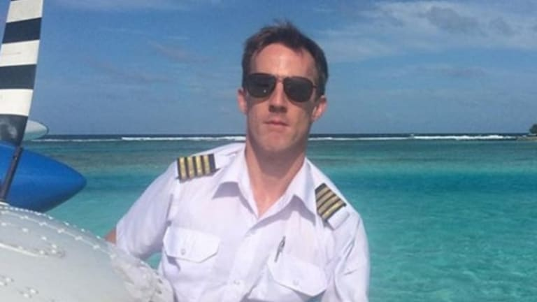 Gareth Morgan, 44, was piloting the Sydney Seaplanes aircraft that crashed.