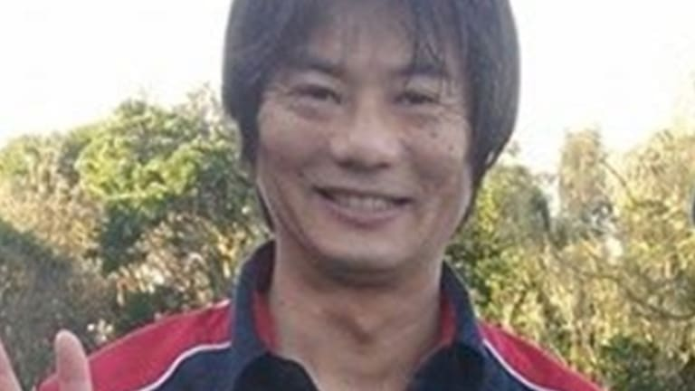 Tadashi Nakahara, who was killed by a shark on Monday morning.