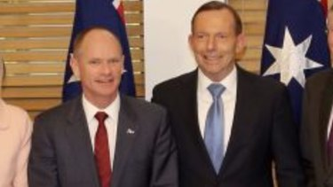 Premier Campbell Newman and Prime Minister Tony Abbott.