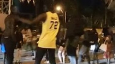 A brawl on the St Kilda foreshore in mid-December was the first of the recent incidents linked to African youth.