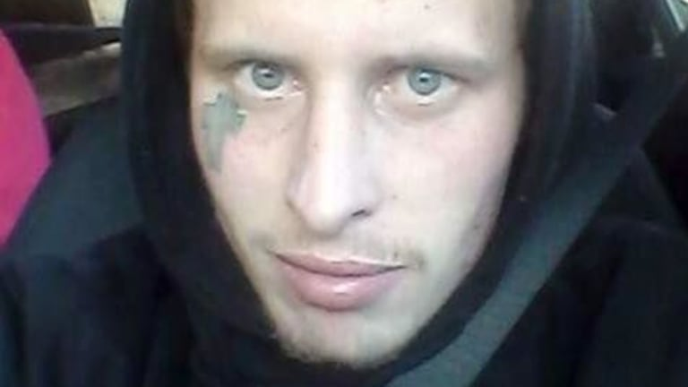 Blake Nicolas Pender has been charged with terrorism offences after allegedly threatening to behead police officers.