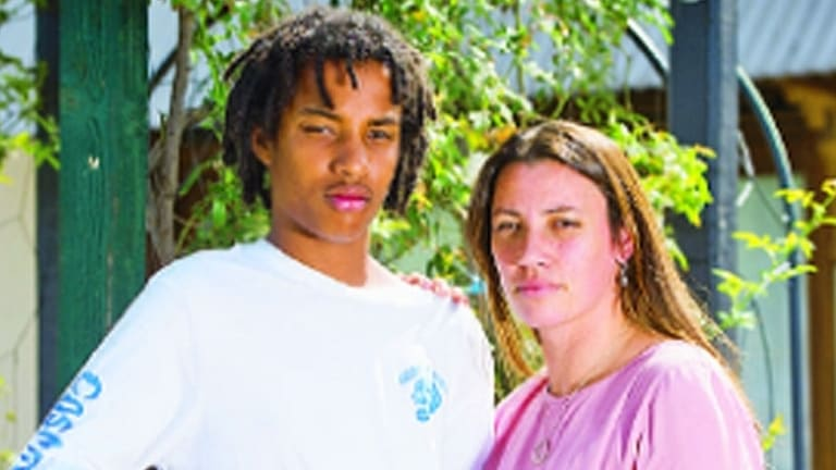Caleb Ernst's Mildura school told him to lose the dreads, or leave.