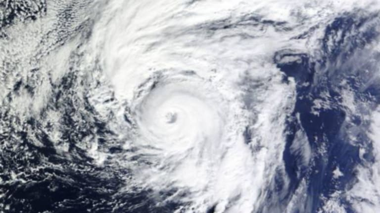 Hurricane Alex forms in the central Atlantic - a rarity in January.