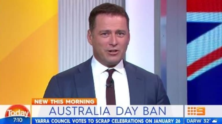 Karl Stefanovic says Australia Day should be changed to January 1.