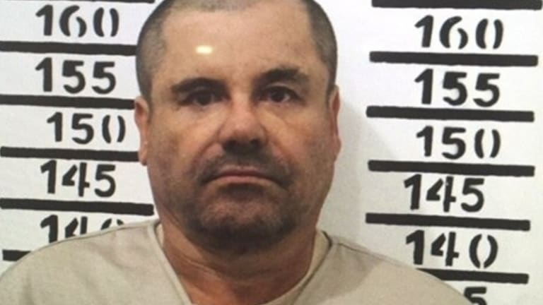 "Mexico's drug lord Joaquin ""El Chapo"" Guzman."