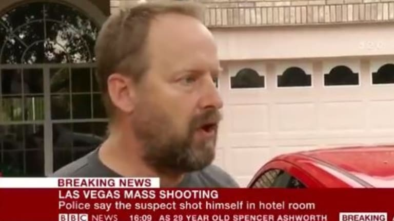 The shooter's brother Eric Paddock said his brother was a quiet retiree who owned no machine guns.