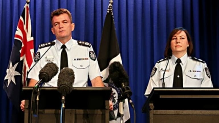 AFP Deputy Commissioner Leanne Close, with Commissioner Andrew Colvin, says changes would damage the ability of police to investigate crimes.