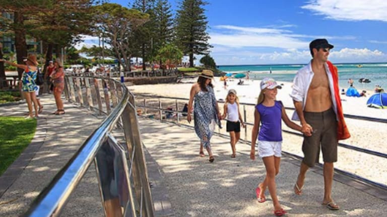 "Government land sales could help lure young families to ""new Caloundra"" Cr Tim Dwyer."