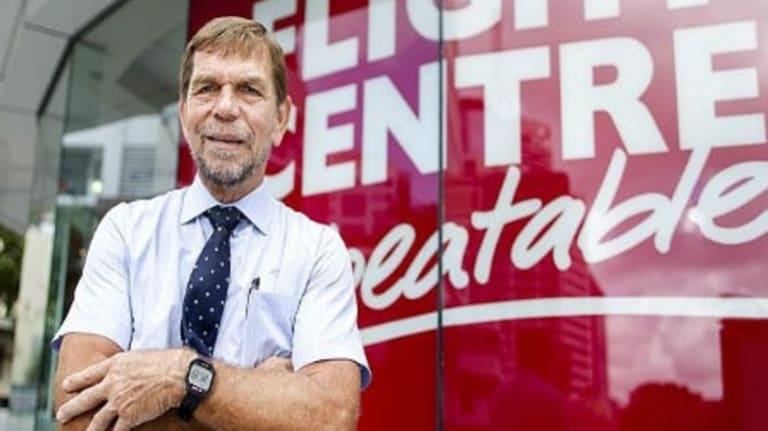 Flying high: Flight Centre founder Graham Turner.