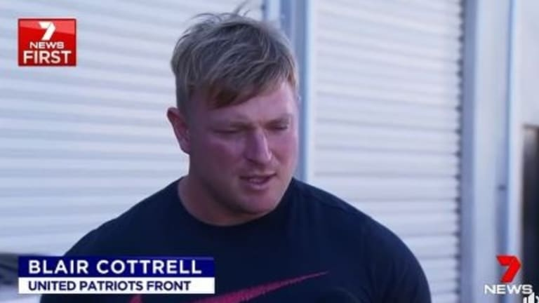 Mr Cottrell has previously been convicted of racial vilification.