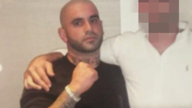 """Mahmoud """"Brownie"""" Ahmad left Australia and travelled to Lebanon after a shooting at his brother's Condell Park smash repairs  business on April 9."""