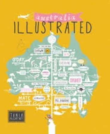 Tania McCartney's Australia Illustrated.