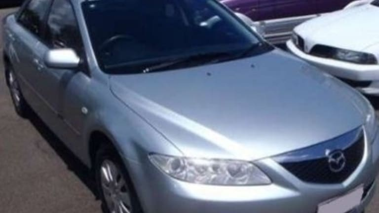 Police wish to speak with anyone who has seen a 2004 silver Mazda6 sedan with Queensland registration 622-HZE after March 7.