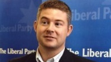 Former Liberal Party state director Damien Mantach.
