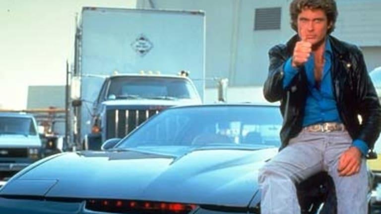 David Hasselhoff in Knight Rider.