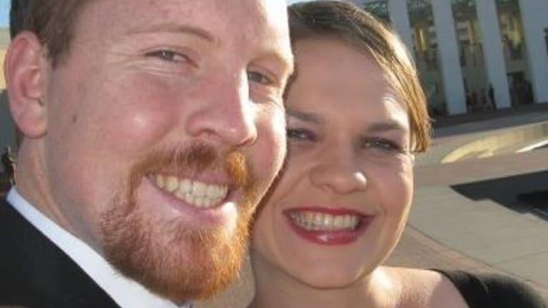 Divorce vow: Nick and Sarah Jensen.