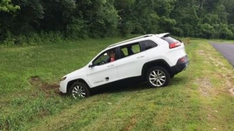Hackers remotely disabled the Jeep's brakes causing it to crash in a ditch.