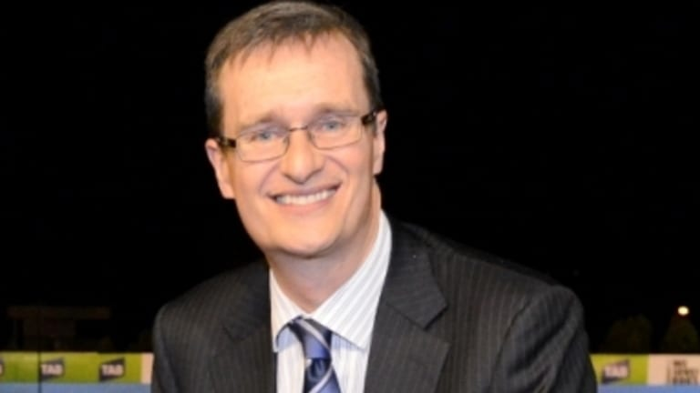Resigned: Greyhound Racing Victoria boss Peter Caillard made the decision to leave the job.