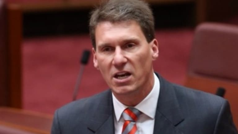 Senator Cory Bernardi says any rise in the GST should be linked to a flat rate of taxation.