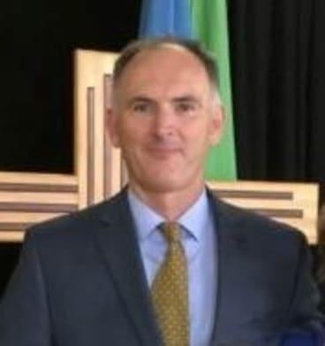 McAuley Catholic College principal Mark O'Farrell.