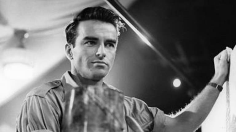 Montgomery Clift in I Confess.