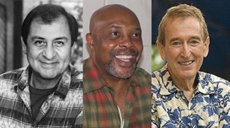 Gone: Emilio Delgado (Luis), Roscoe Orman (Gordon) and Bob McGrath (Bob).