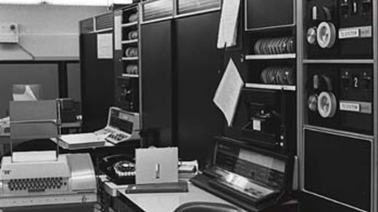 The computer from which the first email was sent.