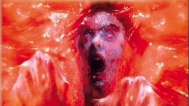 DVD Cover: The Blob Image supplied.