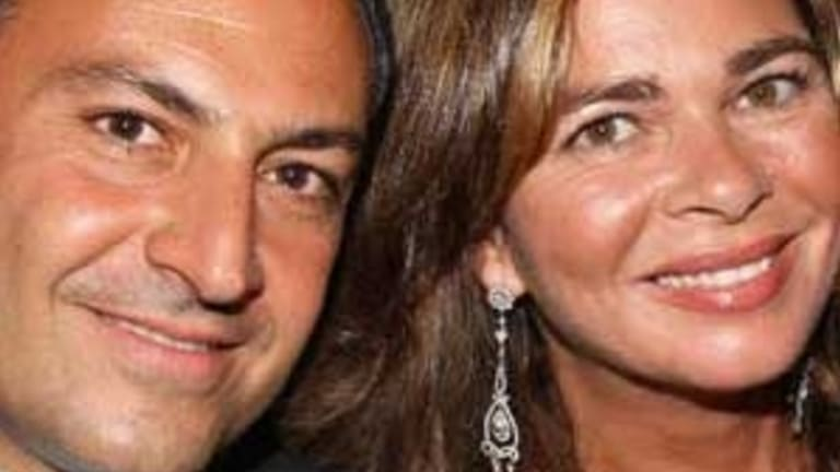 Cyrus Ahsani and his wife Sany
