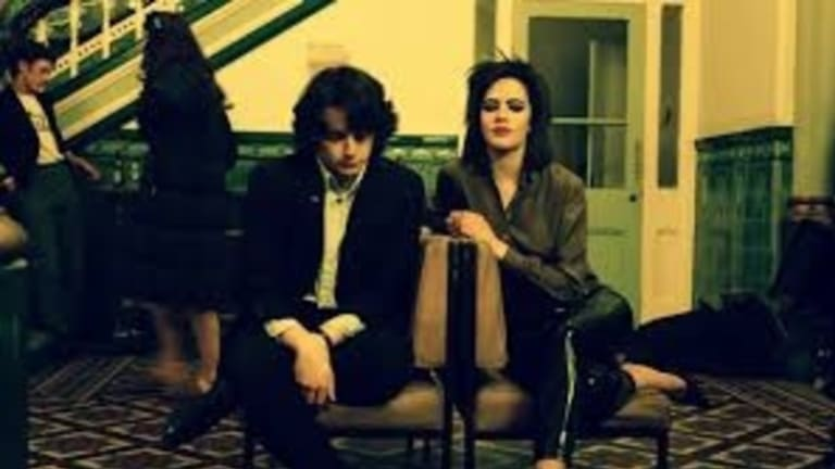 Jack Lowden (Steven Morrissey) and Jessica Brown Findlay (Linder Sterling) in the biopic England Is Mine.