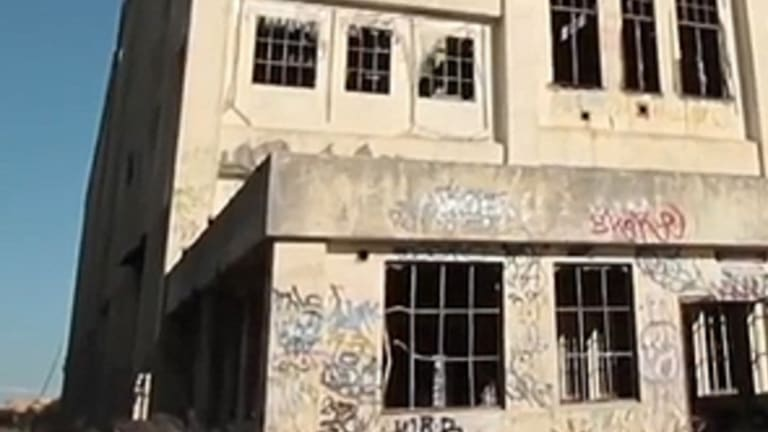 South Fremantle power station has been abandoned for more than 30 years.