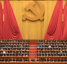 Chinese President Xi Jinping, centre, presides over the opening ceremony of the 19th Party Congress in Beijing.
