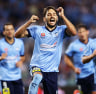 Sydney FC cruise past Adelaide United to continue undefeated A-League season