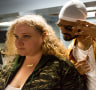 Danielle Macdonald (left) and Siddharth Dahanajay explore a new take on old barriers in <i>Patti Cakes</i>.