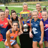 AFLW players set to get pay rise, one Victorian bid could miss license