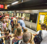 Trains resume after day-long outage
