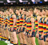 Geelong coach Chris Scott unfussed by Adelaide Crows' anthem ploy