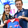 2017 AFLW draft: Isabel Huntington goes at pick No.1 to Western Bulldogs