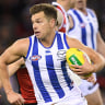 Shaun Higgins claims Syd Barker Medal as North Melbourne 2017 best and fairest
