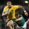Wallabies to play Ireland in three-Test June series next year