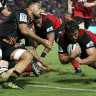Canterbury Crusaders produce storming second half to beat Waikato Chiefs and remain unbeaten