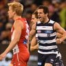 AFL semi-final: Cats conjure up a ninth life with big win over the Swans