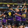 'Big three' of Billy Slater, Cameron Smith and Cooper Cronk orchestrate win