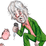 Bob Geldof gives Peter Costello some frank advice on super