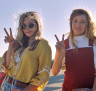 Elizabeth Olsen (left) and Aubrey Plaza in Ingrid Goes West.