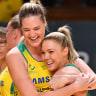 Diamonds overcome third quarter scare to down Silver Ferns in third Constellation Cup clash
