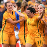 Chloe Logarzo says Matildas' booming popularity stems from Asian Olympic qualifiers