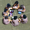 School children have a right to discuss their religious beliefs